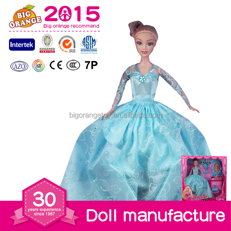 Wholesale Plastic Fashion Girl Doll Toy Beautiful Princess Doll Sofia
