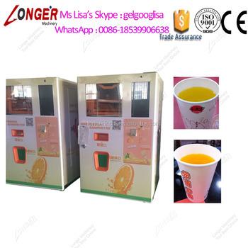 Fresh Orange Juice Vending Machine Fruit Juice Vending Machine Juice