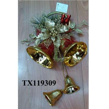 small christmas bells hanging outdoor christmas door hanging bell decorations