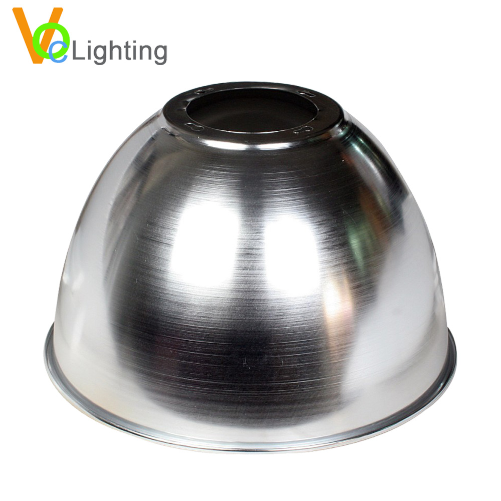 Indoor Work Shop Use Aluminum High Bay Lamp Shade Round Reflectors