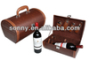 Exquisite Portable Multi-functional Combination PU Wine Box For Bottles