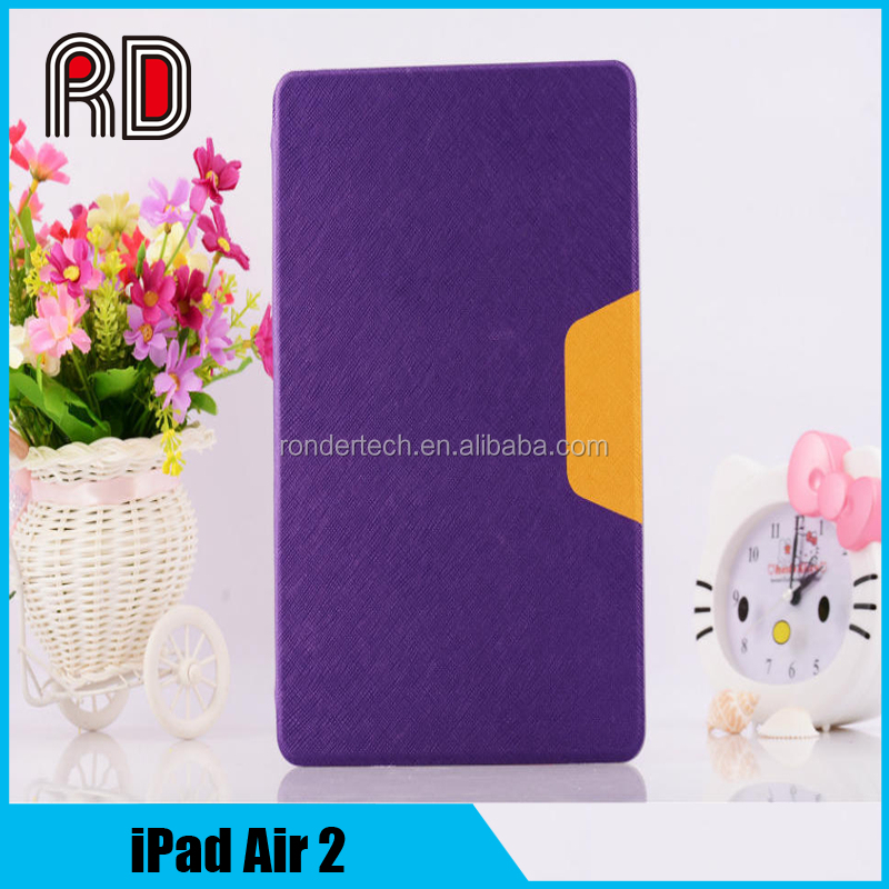 Stand Flip Cover for apple ipad air 2 case Business Folio PU Leather Case for ipad air2 cover
