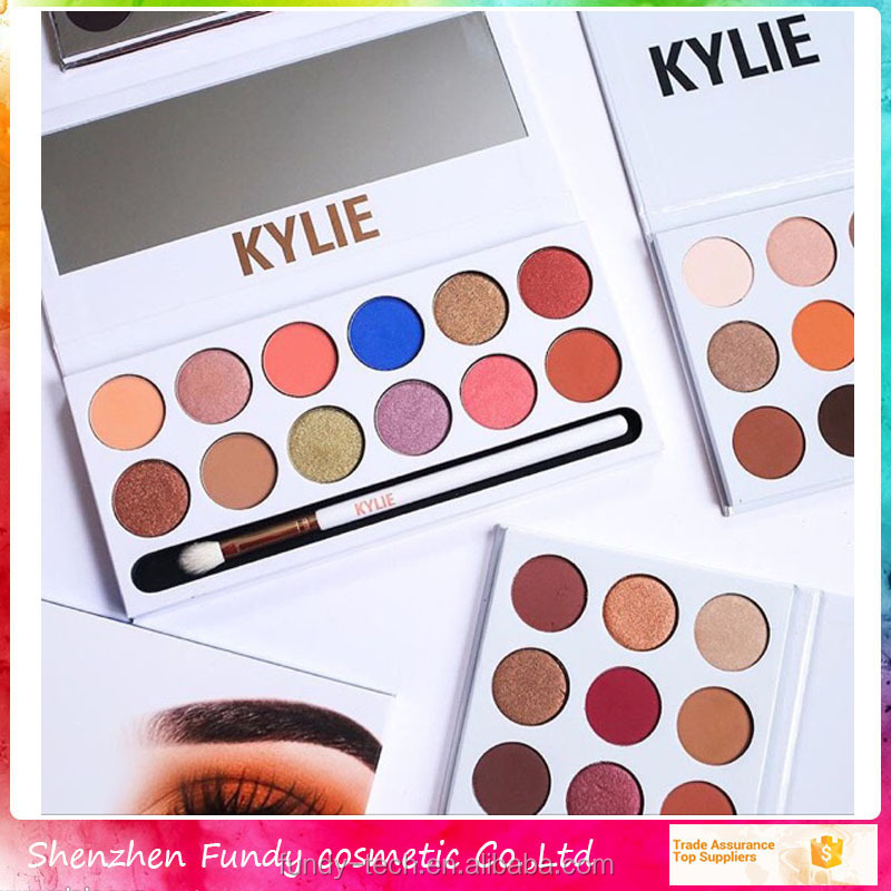 Make-up cosmetics wholesale cheap kylie eye shadow oem private label custom 12 color eyeshadow palette
