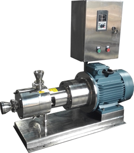 stainless steel variable speed three staged mixer for juice and cream