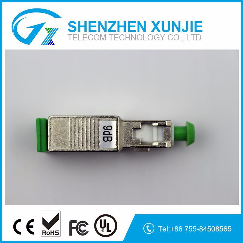 High quality Fix/adjustable type SC/APC Optical Fiber attenuator