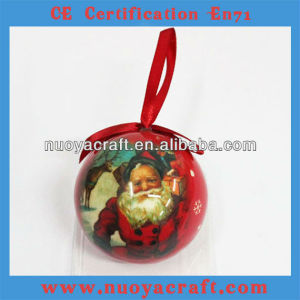 2013 outdoor xmas Foam father christmas with Xmas tree decoration