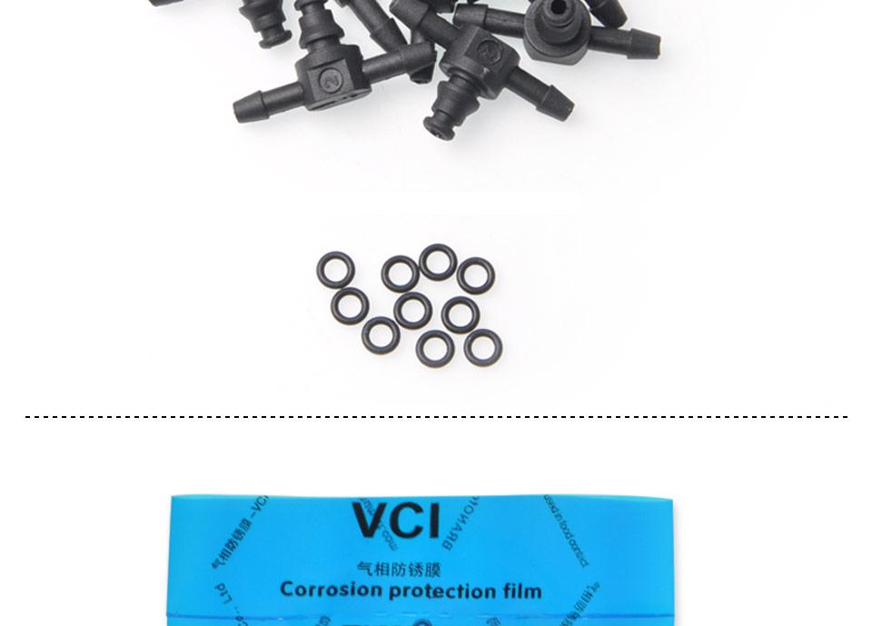 Bosch 110 diesel common rail injectors oil backflow pipe t-style  plastic tee joint fitting 10pcs (6).jpg