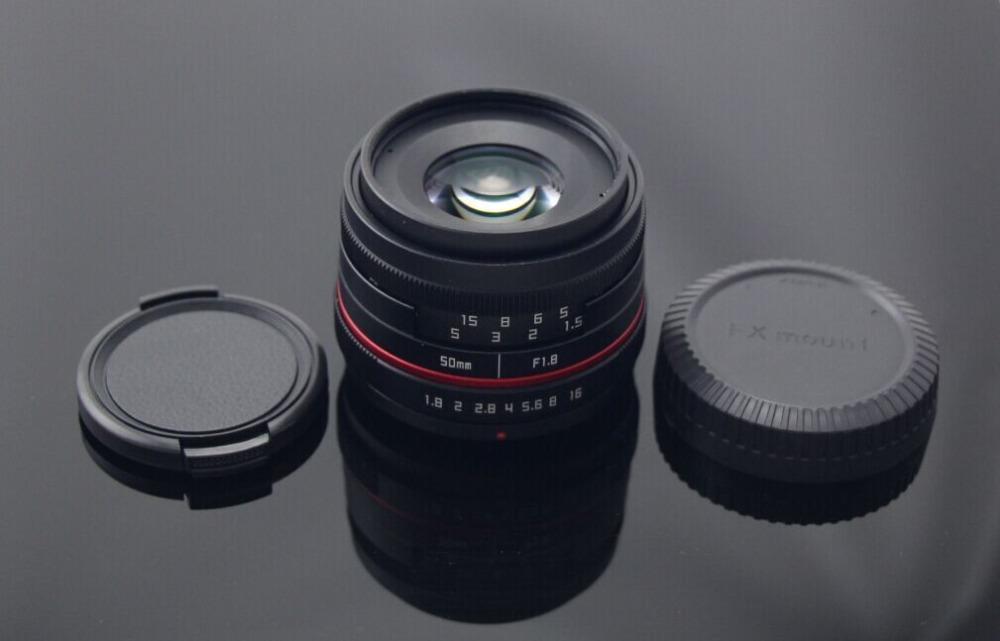 50mm Apsc Mount Lens Match With Fujinon Mirrorless Camera