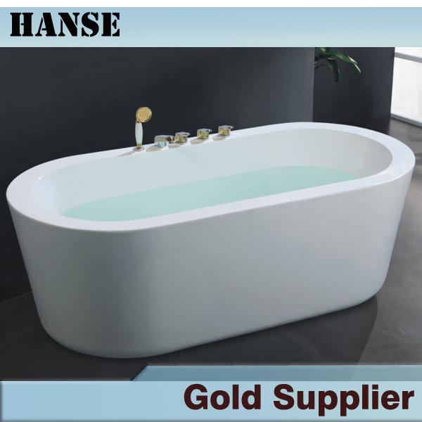 simple trempage acylic baignoire avec fixe robinet dans baignoires et bains remous de. Black Bedroom Furniture Sets. Home Design Ideas