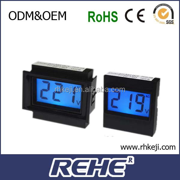 2014 newest LED digitron monitor single phase dc Voltmeter (d91-20)