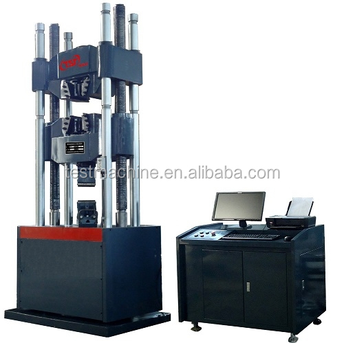 Computer Electro Servo Bend Compression Tensile Tester Hydraulic Tensile Testing Machine Price