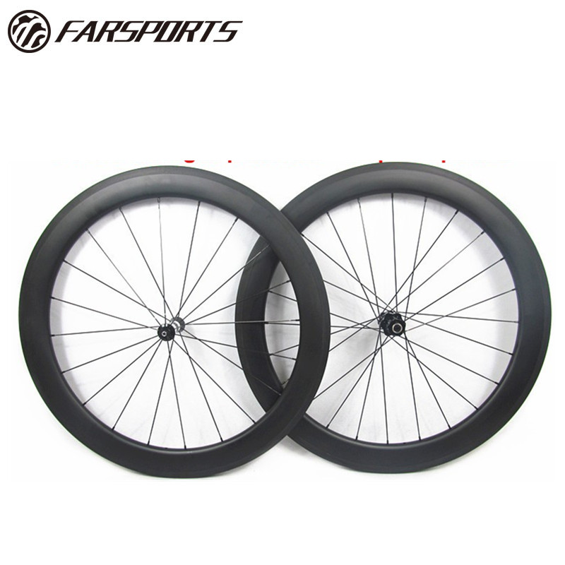 UltraLight 60 mm Deep 21 mm Wide 700c Carbon Tubular Rim 20h