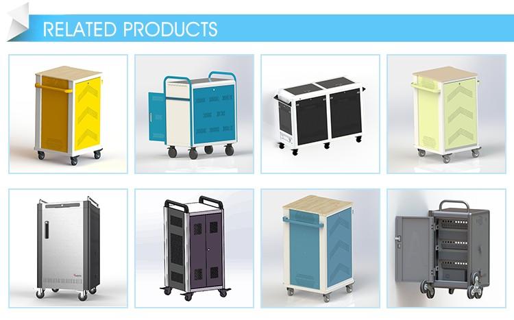 Garantierte Qualität Mehrere Power Socket Tablet Ladewagen