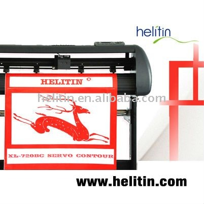 Graphic cutting plotter with infrared device