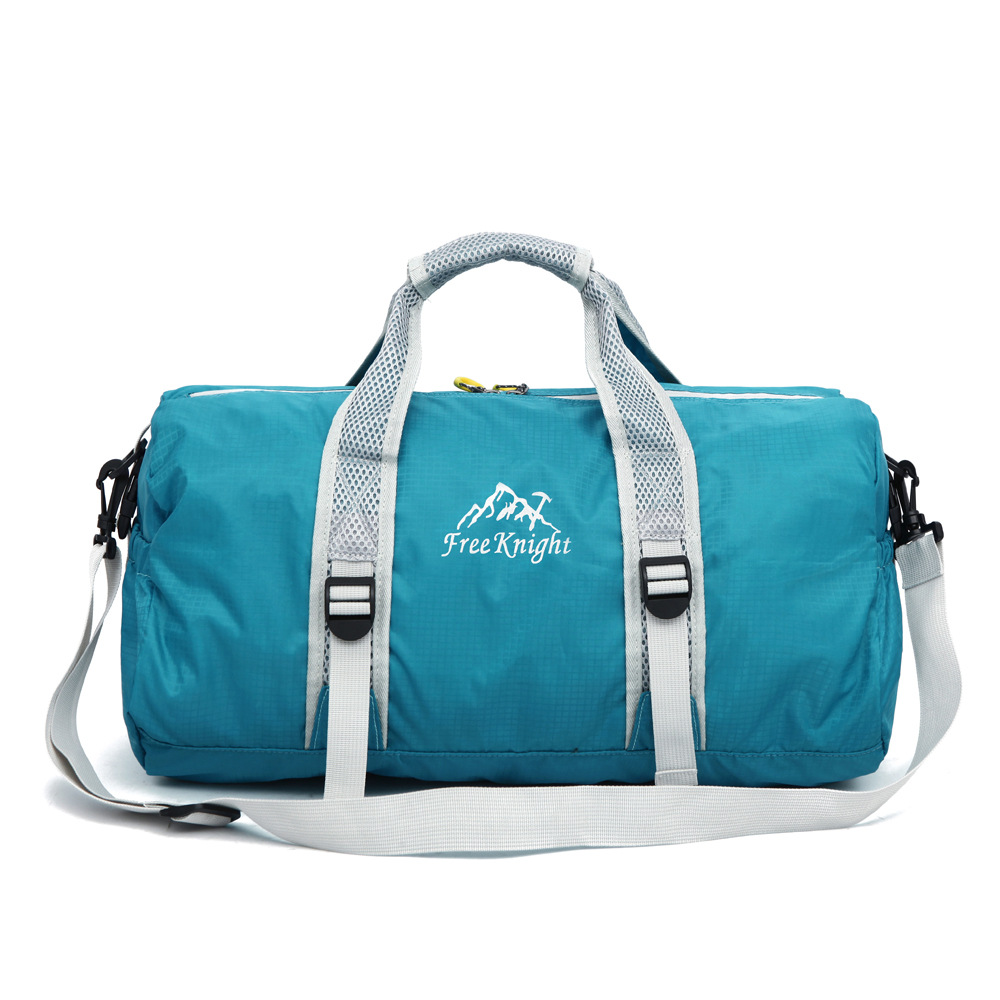 a8a4d5ac7c Custom Brand Waterproof Lightweight Portable Round Packable Folding  Foldable Duffle Bag