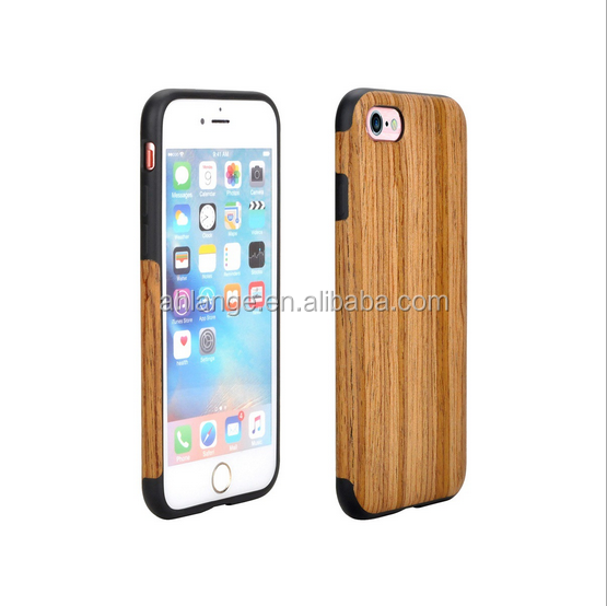 Bamboo wood Printing Cell phone protective cases For iphone/ sumsang