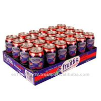 FRUITTIS Fruit Juice Drink canned 24x33cl