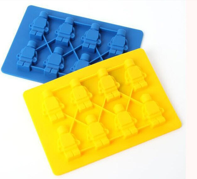 Minifigure Silicone Mold For Lego Lover Silicone Cake Mould Jelly ...
