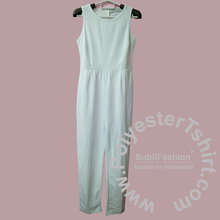 Kosong Sublimasi Polyester Perancis Terry <span class=keywords><strong>Wanita</strong></span> Jumpsuit Lengan One Piece Body Suit Romper