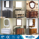 Modern solid wood bathroom cabinet vanity