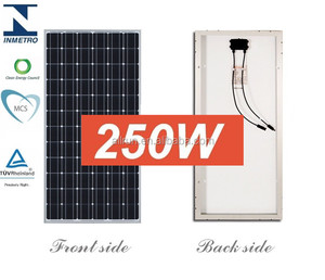 low price high efficiency 60 cells mono 250 watt solar panels