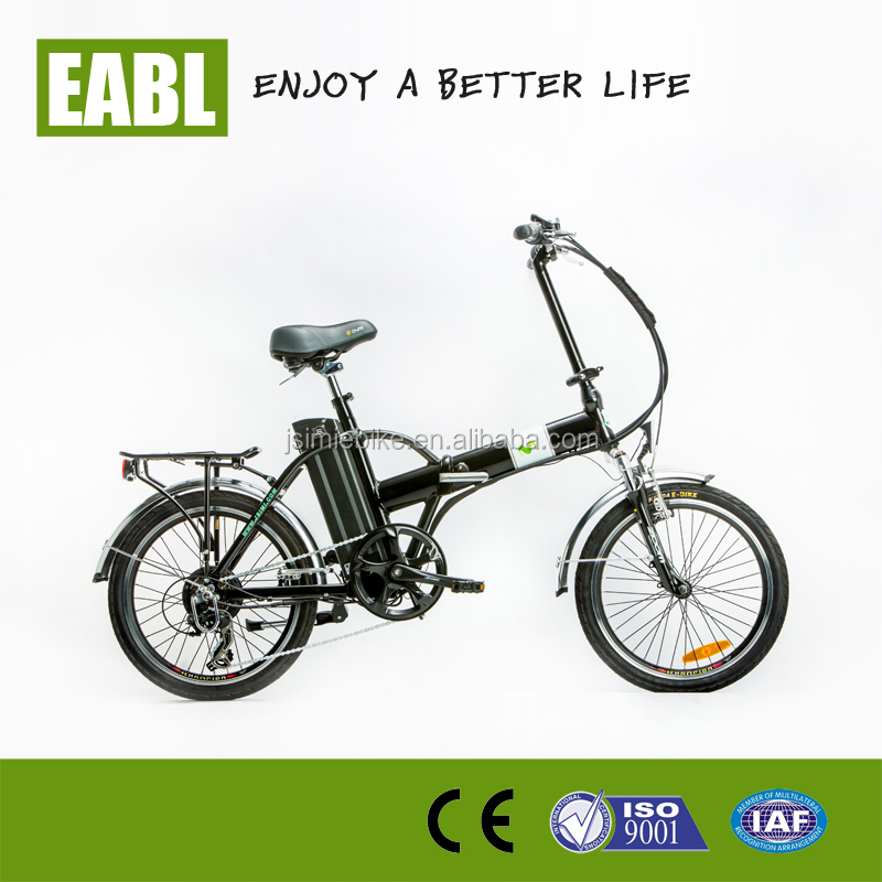 high quality cheap folding electric bicycle lithium battery in frame electric bike with throttle