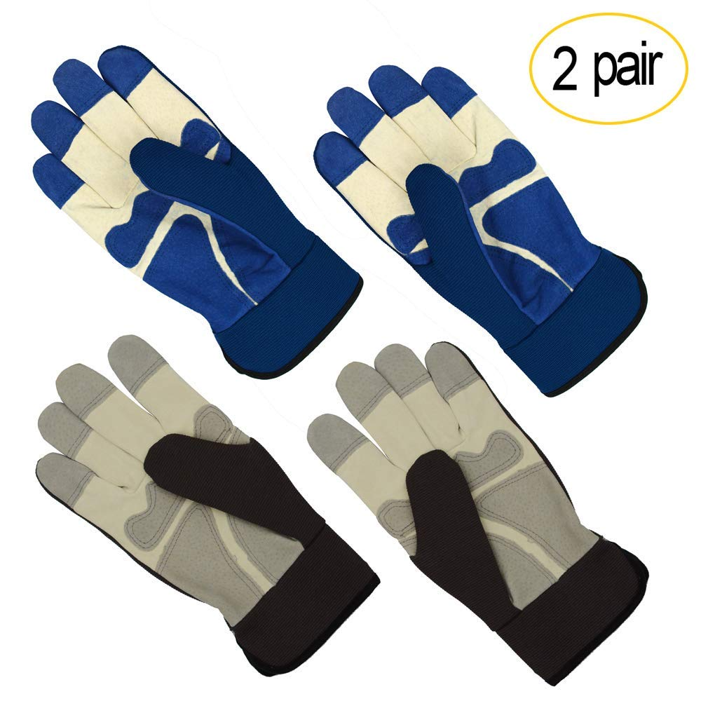 haoricu Rubber Gloves for Cleaning,Household Gloves,Long Rubber Warm Waterproof Gloves Kitchen Cleaning Gloves