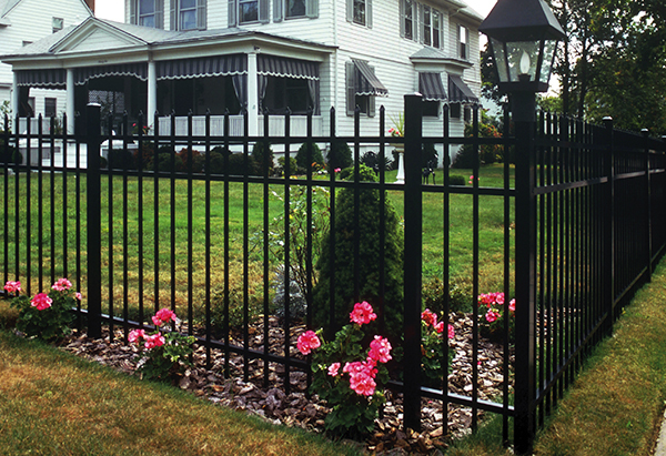 Solid Pvc Wrought Iron Metal Garden Fence Panels And Gate Ornament Desgins  Cost For Villa