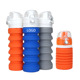 most popular sustainable eco friendly travel products sport foldable collapsible silicone water bottle