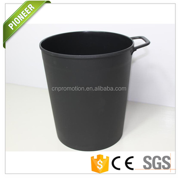 Semi Round Trash Cans Can Plastic Large The