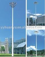 High mast light,electricity power steel pole