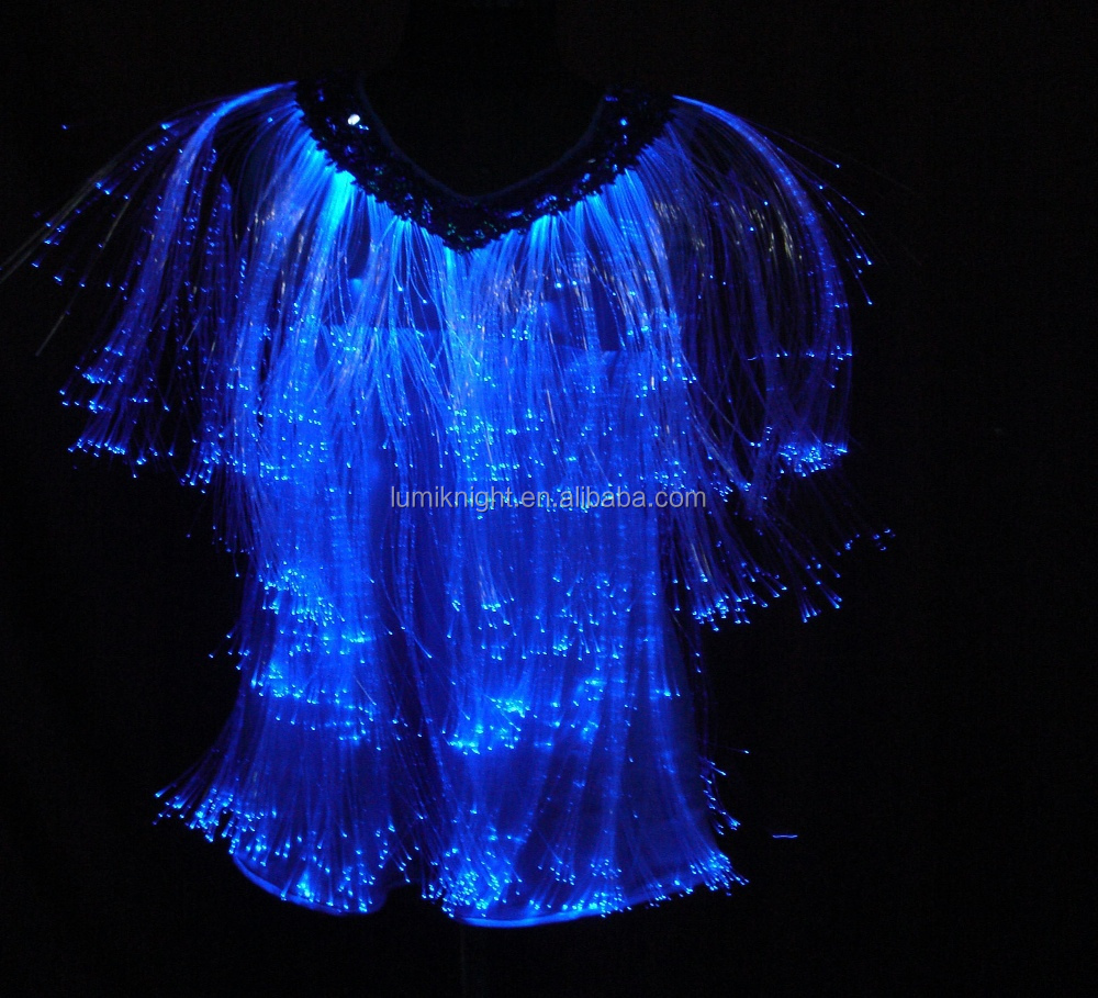 ;ED illuminated fairy costume for girls dance team uniforms,stage performance costume