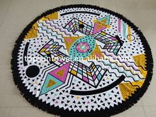 round towel beach tassel From China supplier