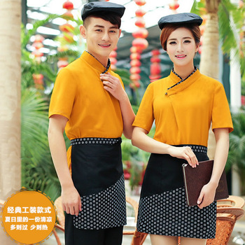 Cooking Chef Bib Apron Men Women Kitchen Work Apron Custom Home Coffee Tea Shop Restaurant Aprons Antifouling Working Uniform