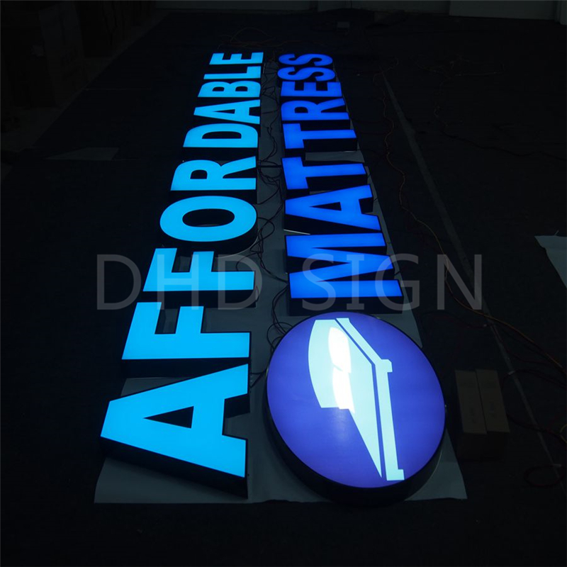 Factory price illuminations channel letter signs with UL certificate