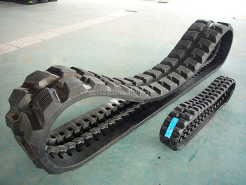 Rubber track for mini excavators and compact track loaders top deals at factory price