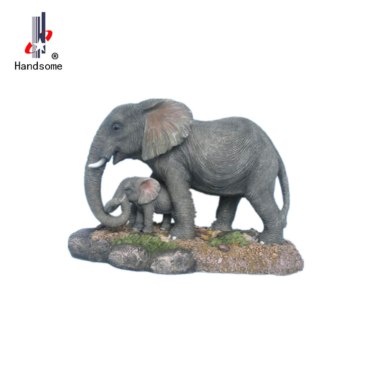 Resin Sculpture Elephant Statues Polyresin Figurine Elephant Statues