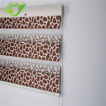 stardeco manufacture custom zebra print roller blinds shades window blinds+outdoor roller shades