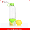 Customized logo 800ml juice shaker with squeezer & container drinking healthier lemon water bottle OEM (KL-7042)