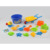 kids 15pieces plastic buckets and spades sand beach toys