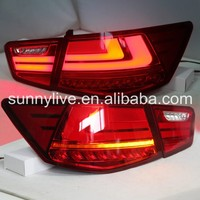 For KIA Cerato Forte Sedan LED Tail Lamp 2009- 2013 year Red White Color WHV2