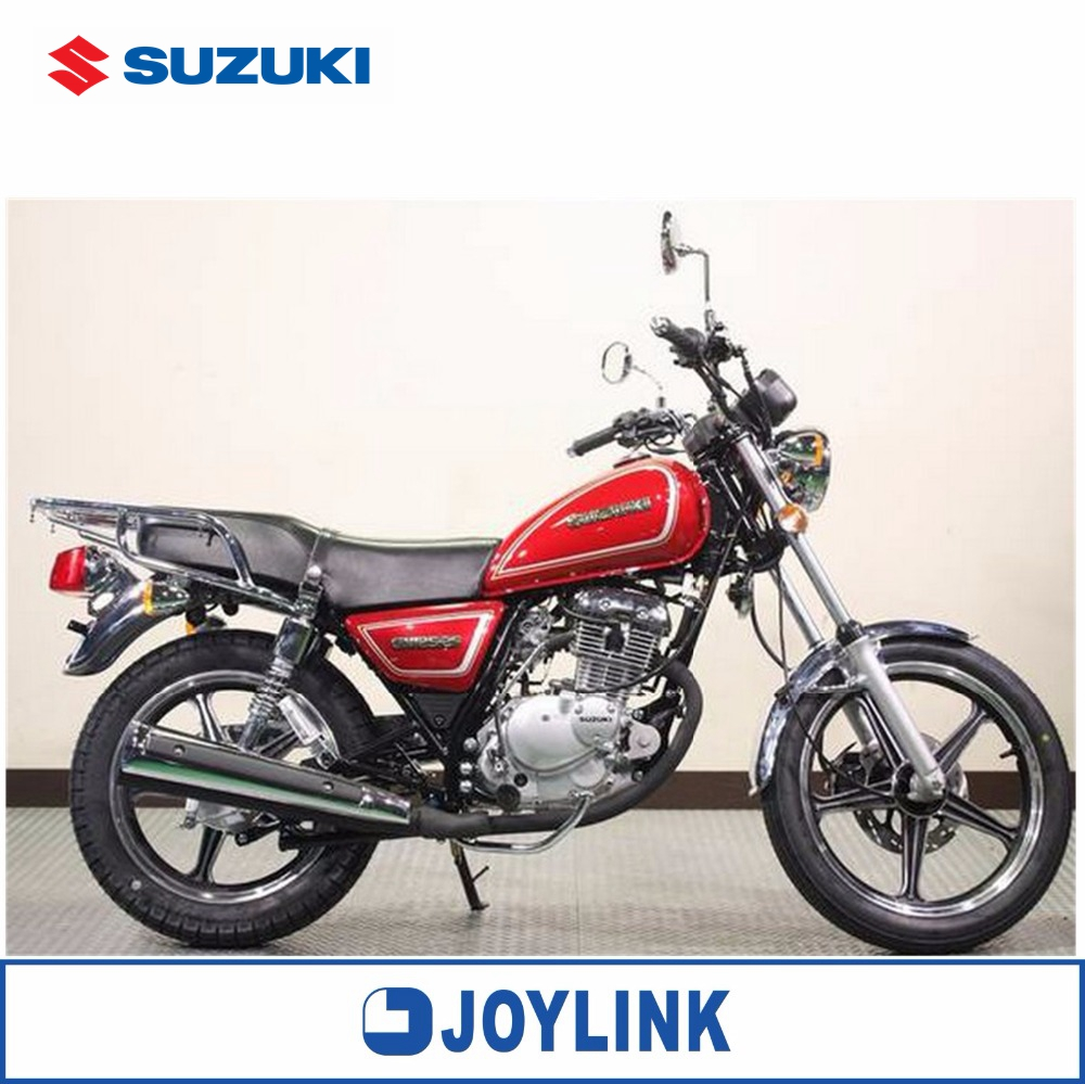 Brand New China Suzuki GN125-2F Electric & Kick Classic Street Motorcycle