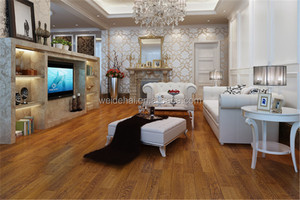 8/12mm high quality wood laminate oak french parquet flooring tiles and building material