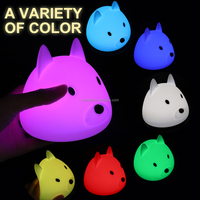 3D animal light ,cartoon design animal lamp