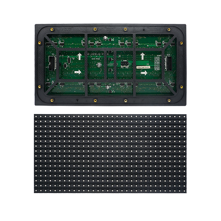 Volle farbe PCB circuit board matrix panel größe 320x160mm outdoor video wand led matrix p10 display bildschirm