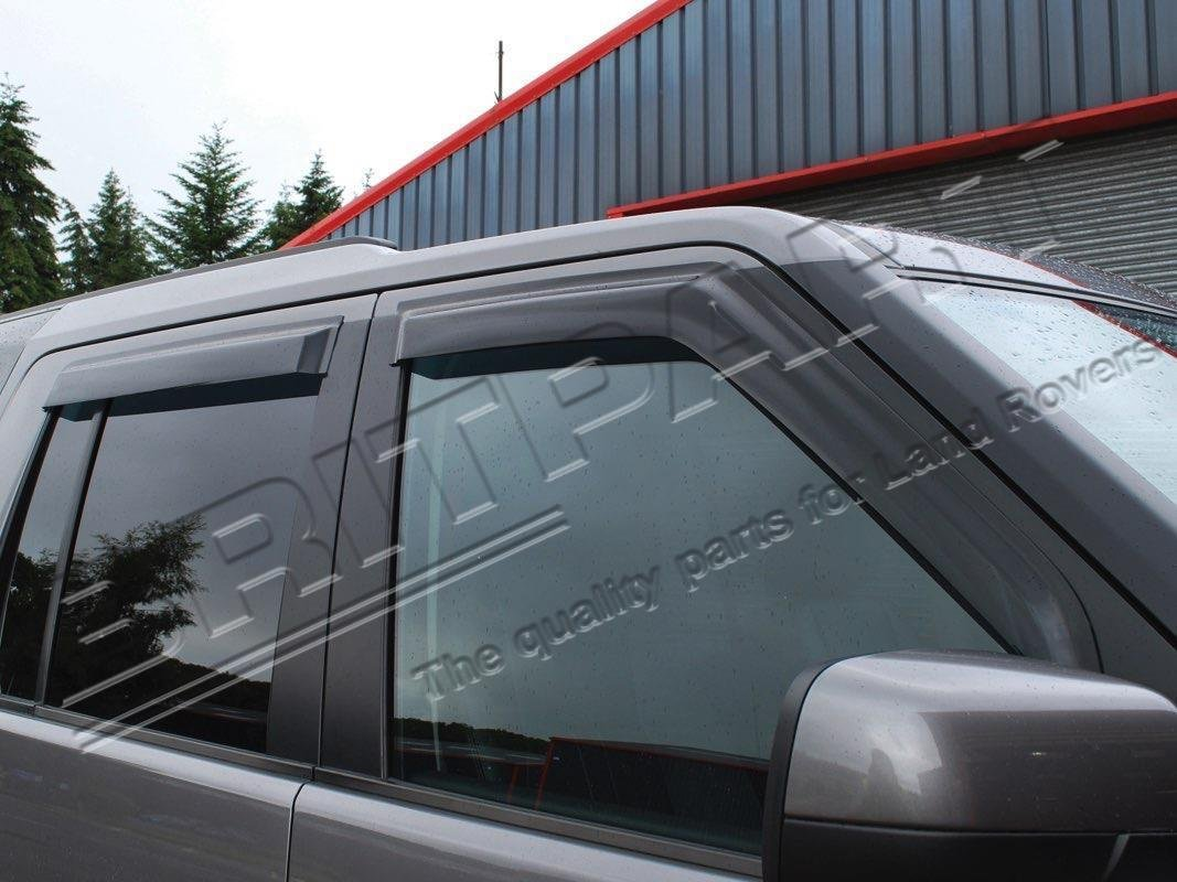 LAND ROVER LR4 / DISCOVERY 4 FRONT & REAR WIND DEFLECTOR SET 4 PIECES DA6072