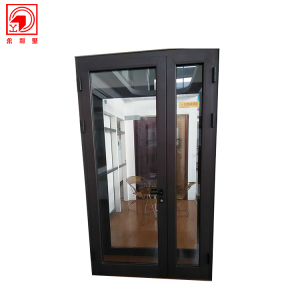 Room Soundproof French Casement Aluminum Frame Glass Door