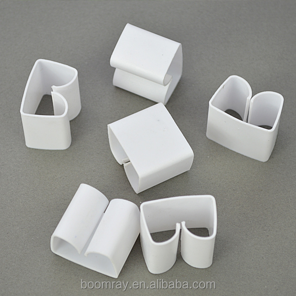 Office Plastic Locking Cable Clip Wiring Clips Self Adhesive Home  on