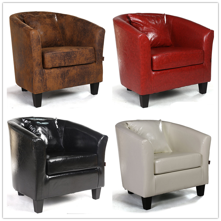 leather salon furniture waiting bedroom sofa tub chair buy salon