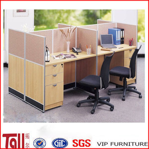 beauty salon workstation with wooden office table and chairs